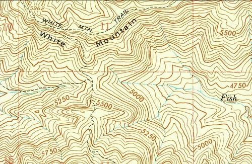 White Mountain Trail, 1958