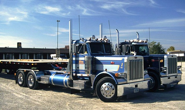 Sweet Peterbilt Pair
