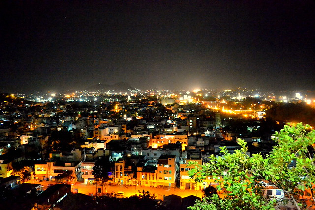 Vijayawada at Night