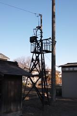 上野本郷の火の見櫓(上尾市)