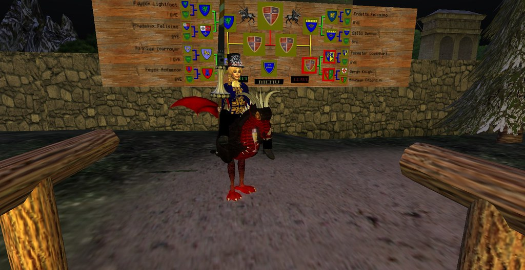 AC comes in 1 and 2 at intersim jousting 6608671055_22d5256761_b
