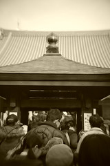 New Year's visit to  Kogan-ji Temple.