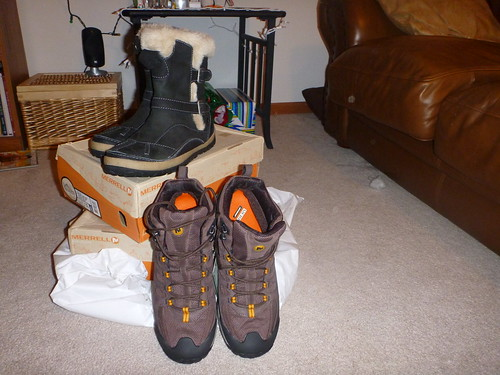 Review of Two Merrill Hiking/Winter Boots