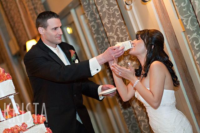 Tall Groom Short Bride Wedding Cake Topper