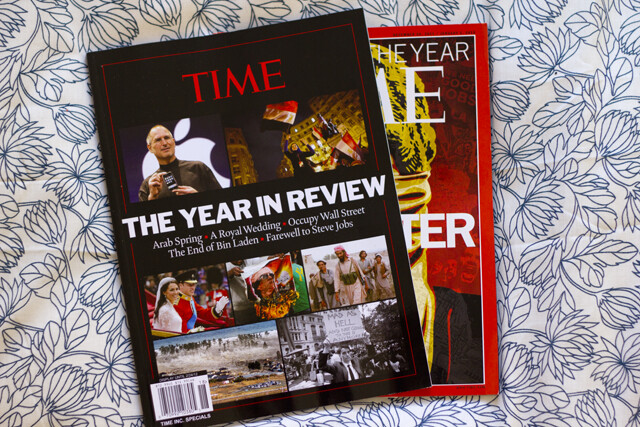 time: the year in review