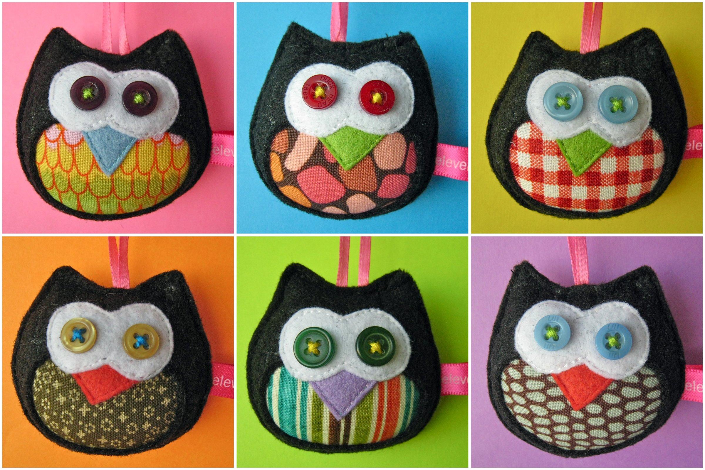 The tiny black owls