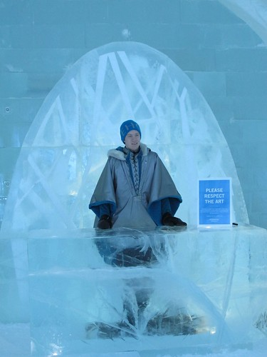 Reception, Ice Hotel, Jukkasjärvi