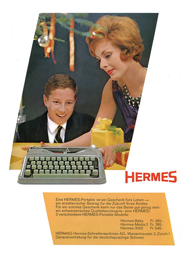 Hermes Baby ad