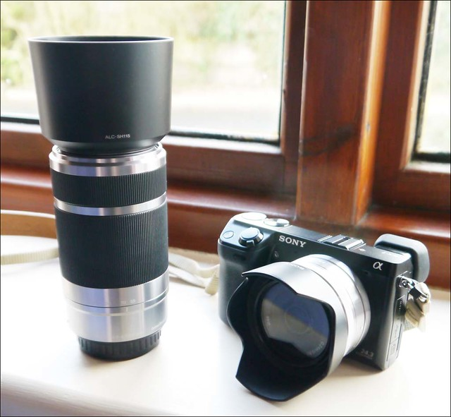 Sony NEX-7 16mm and 55-210mm lenses