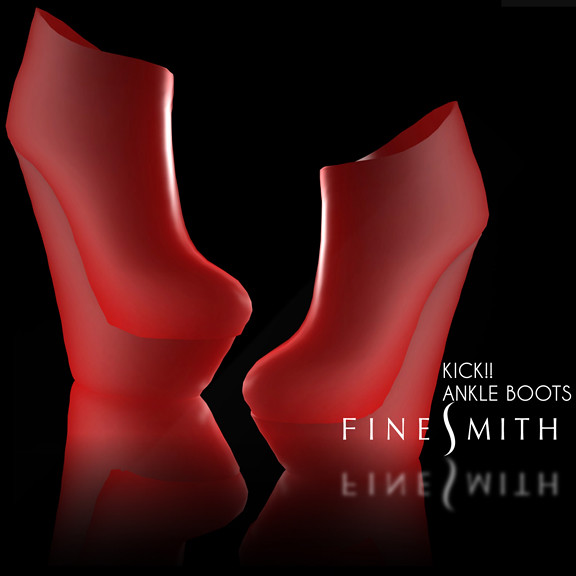 FINESMITH KICK! Plain Red