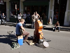木, 2010-12-02 14:18 - ニューオーリンズ、Royal Street のミュージシャン