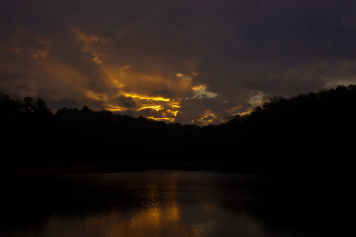 trees sky lake reflection nature water silhouette clouds sunrise georgia week1 lagrange troupcounty westpointlake themenew thesussman sonyalphadslra550 sonyalphadslra500 52of2012