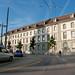 Strahlend blauer Himmel über dem Burgerspital