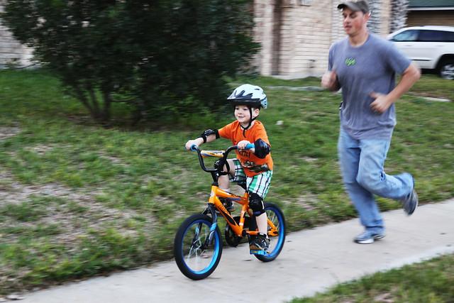 no training wheels