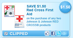 Johnson & Johnson Red Cross Products Coupon