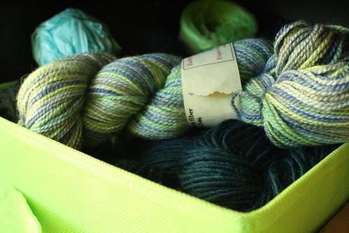 Box o' yarn
