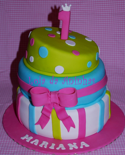 Bolo 1º aniversário by Aninhas_lisboa