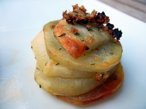 Roasted Potato Stack