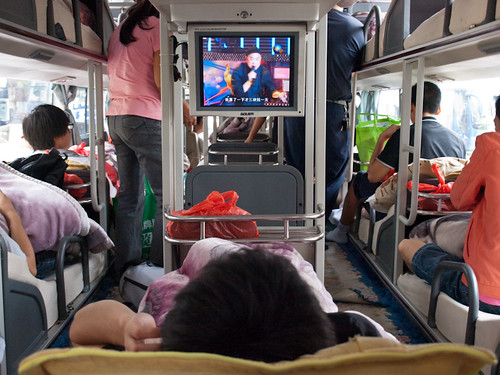 Autobús cama en China