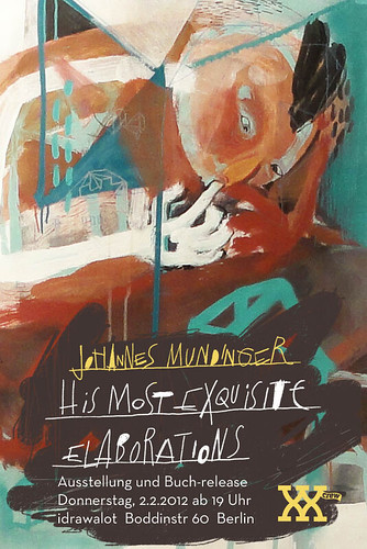 Ausstellung Neukölln idrawalot exhibition Johannes Mundinger