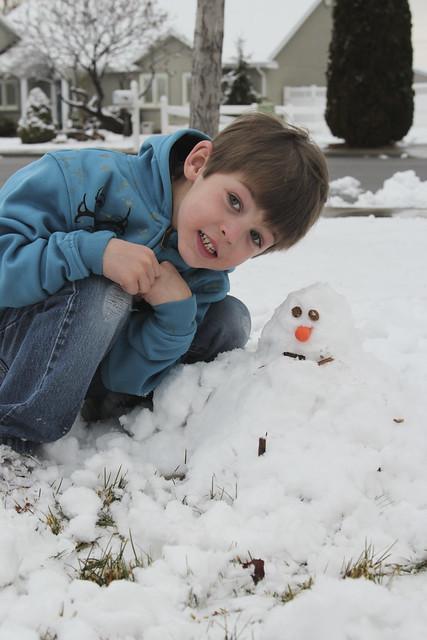 Sir O's Snowman