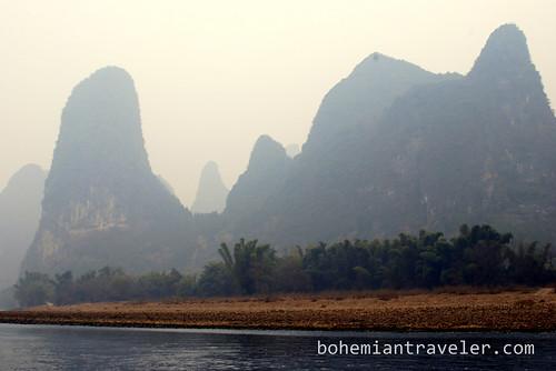 scenery along the Li Rivier