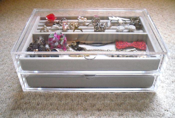 muji jewellery box a