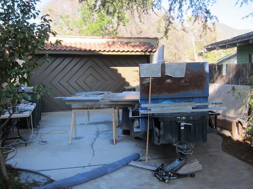 Soapstone, day 1 -- driveway fabricating