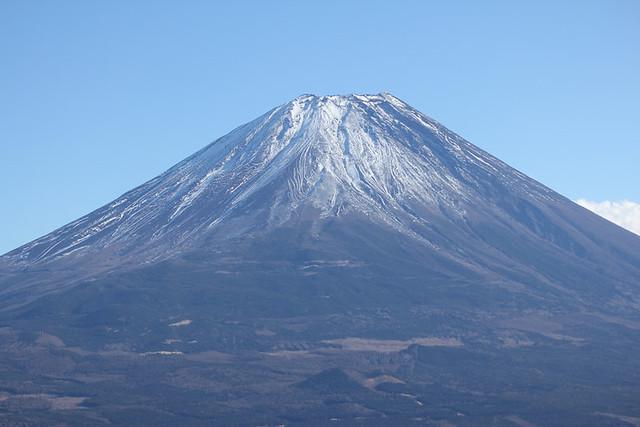 富士山を西側から