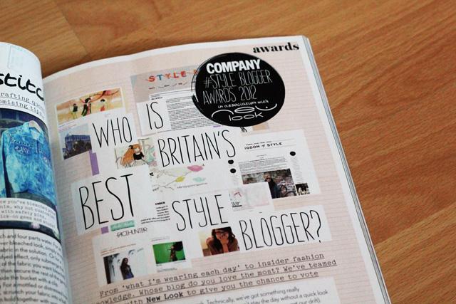 company blog awards