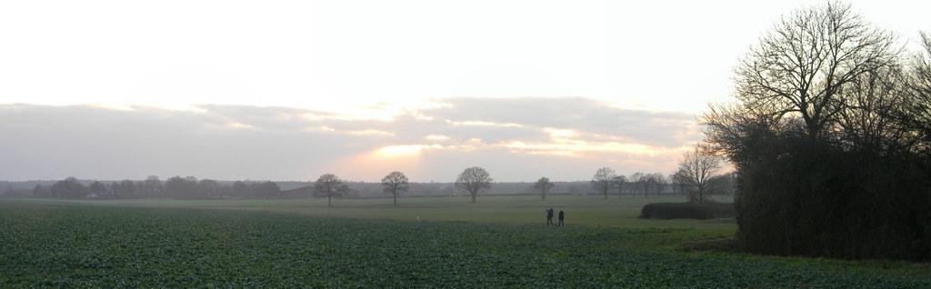 View near Honey Farm Pluckley Circular