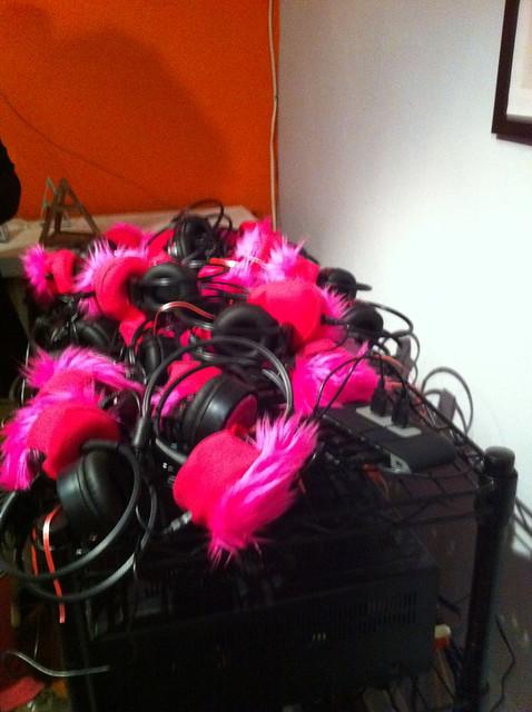 Pink Muffs