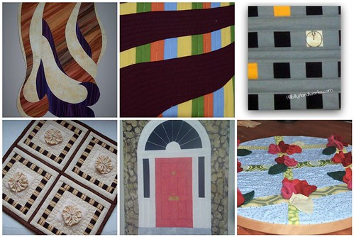 Creations from the Project QUILTING Architectural Elements Challenge
