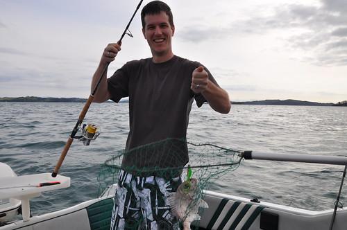 Rob fishing