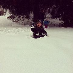 More sledding yesterday