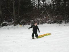 The sledding hill