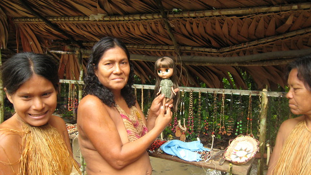 Morena and the Yagua women