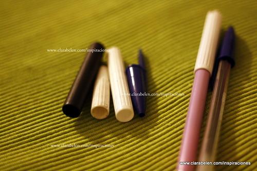 Manualidades para niños: adornar lápices con reciclado