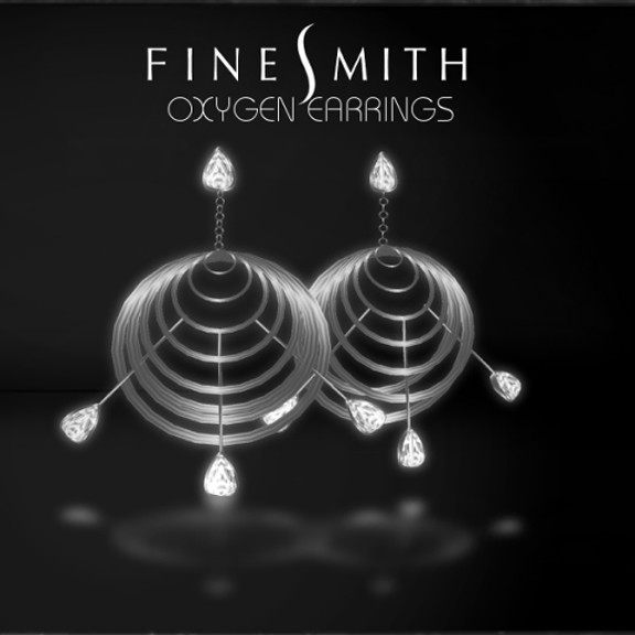 OxygenEarrings SILVER