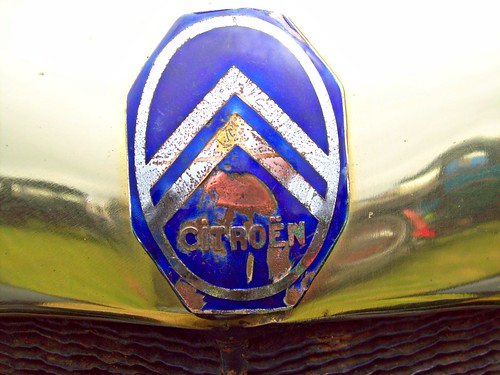 123 Citroen Badge