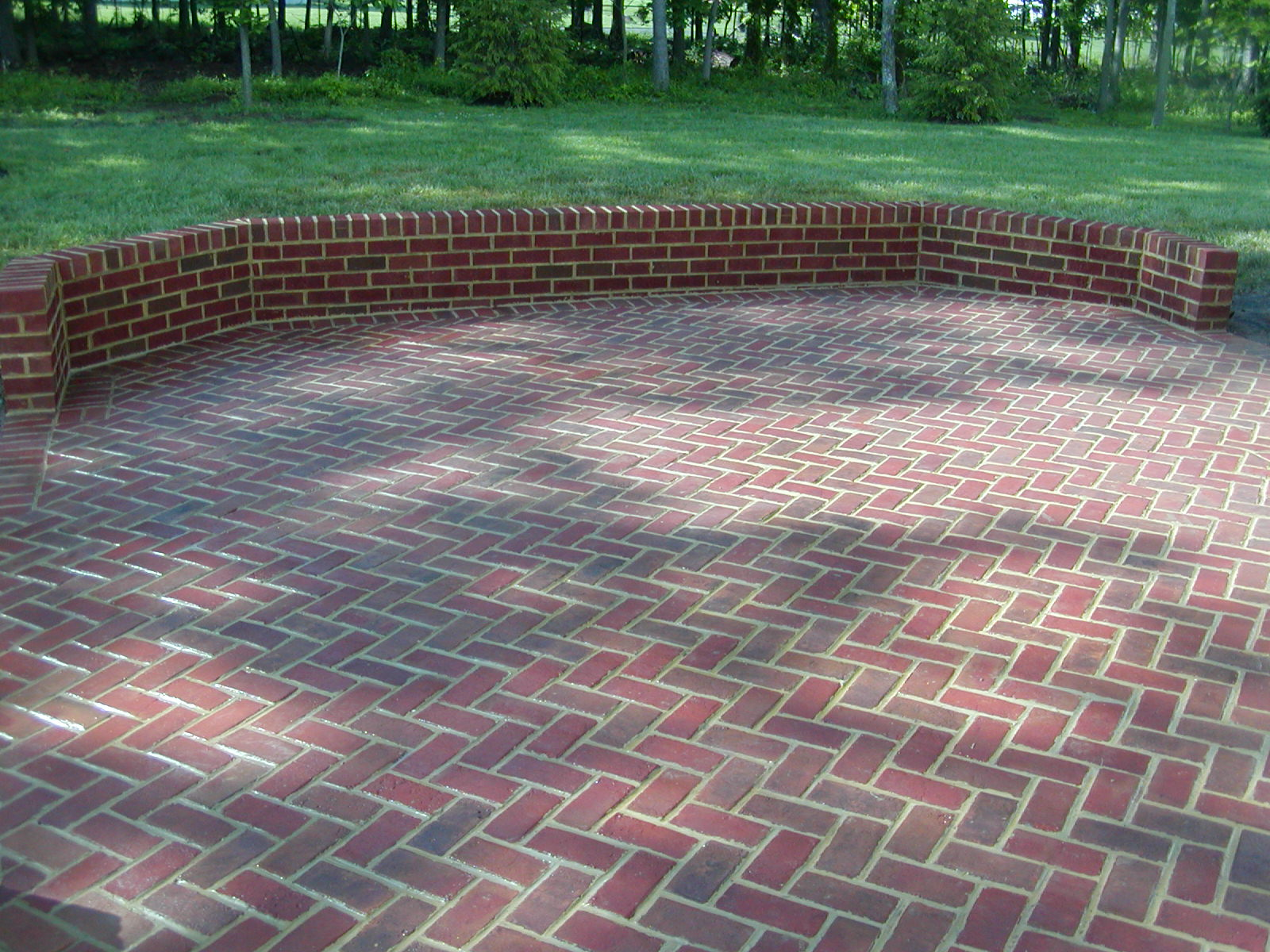 Brick Patio Patterns Viewing Gallery