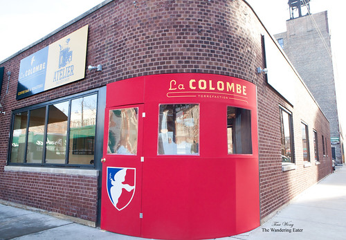 Entrance to La Colombe Torrefaction