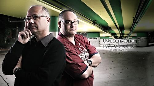 22 of 50 - Uwe Schmolke & Ivo Vaessen by Martin-Klein
