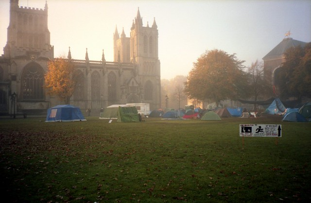 Morning, Occupy Bristol