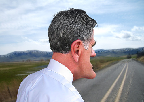 Mitt Romney Caricature