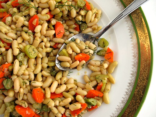 flageolet bean salad