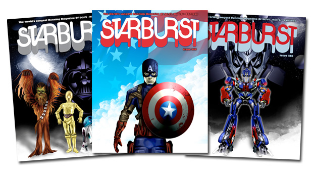 Starburst Magazine: Star Wars, Captain America and Transformers