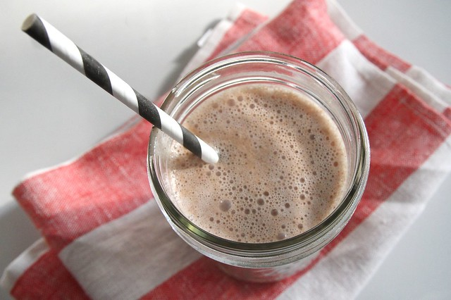 raw chocolate milk