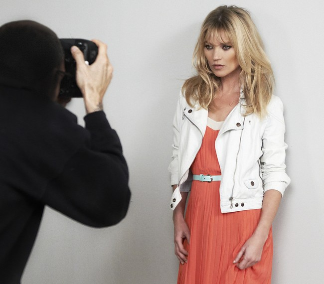 MANGO SS 2012 KATE MOSS MAKING OF