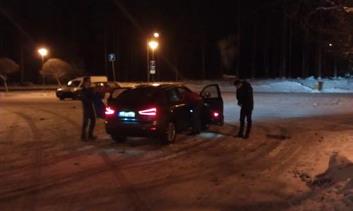 Audi Q3 i Gävle Bro